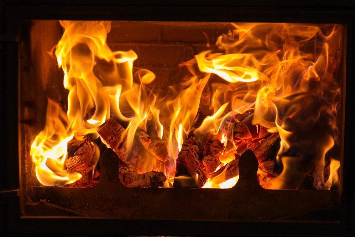 Värmen sprider sig i huset